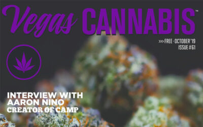 OMG THC Hash Featured in Vegas Cannabis Magazine
