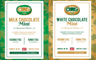 Limited Edition Mint White & Milk Chocolate Bars Out Now