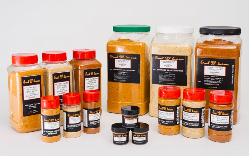 Soul D'licious Seasonings