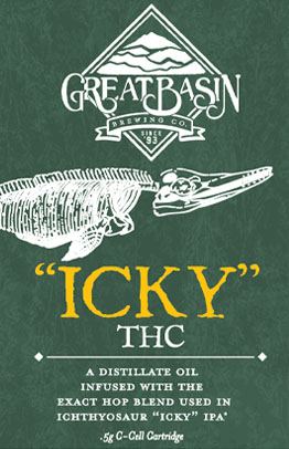 Great Basin Brewing Company Icky THC vape