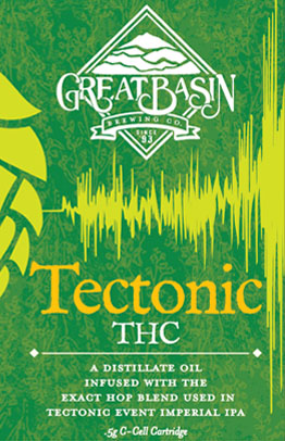 Great Basin Brewing Company Tectonic THC vape