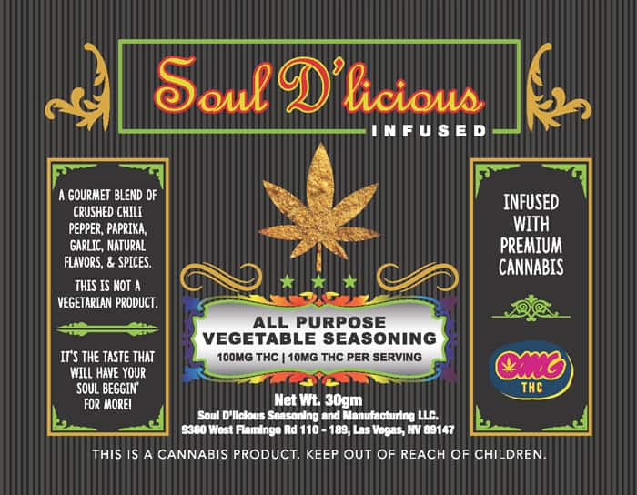 Soul D'licious Infused Spices - Vegetable